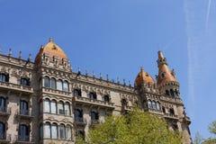 Barcelona. Cases Antoni Rocamora. Stock Photography