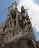 BARCELONA/CATALONIA, ESPAÑA: Iglesia de la familia sagrada Fotos de archivo libres de regalías