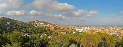 barcelona catalonia spain Arkivbilder