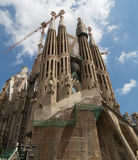 BARCELONA, CATALONIA, SPAIN: Church of Sacred family Royalty Free Stock Images