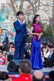 barcelona Catalonia Spain 04 Feb st, 2017 Podawcy Obrazy Royalty Free