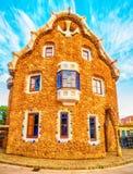 Barcelona, Catalonia, Spain: the Park Guell of Antoni Gaudi Stock Photo