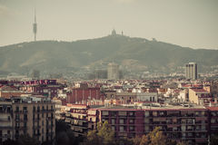 Barcelona. Catalonia, Spain - travel background Royalty Free Stock Image