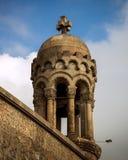 Barcelona Catalonia, Spanien, Oktober 02, 2016 Del av kyrklig nolla Arkivbild