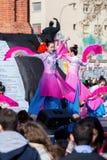 Barcelona, Cataluña, España 4 de febrero de 2017 Niño de los participantes Fotos de archivo