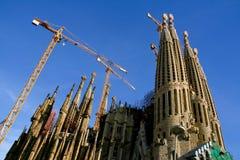 Barcelona, Cataluña, España - templo expiatorio del Famil santo foto de archivo