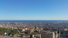 Barcelona Catalunia Spanje Stock Afbeelding