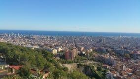 Barcelona Catalunia Spanje Stock Afbeeldingen