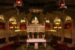 Barcelona / Catedral Crypt Stock Images