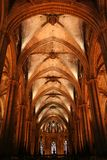 Barcelona / Catedral interior Stock Image