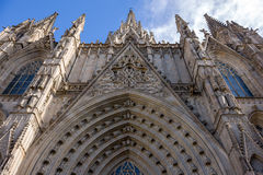 Barcelona cathederal Royalty Free Stock Photos