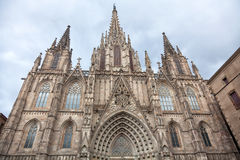 Barcelona Cathedral Stock Photography