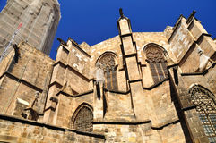 Barcelona cathedral. Royalty Free Stock Photo