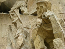 Barcelona Cathedral Detail royalty free stock photos