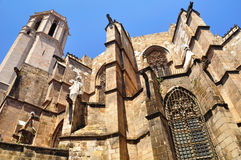Barcelona cathedral. Stock Images