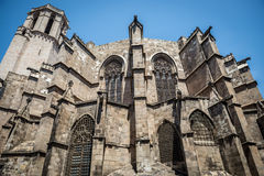 Barcelona Cathedral Royalty Free Stock Photos