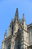 Barcelona Cathedral, Old Town Barcelona, Spain Stock Photo