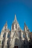Barcelona Cathedral. Spain. Stock Photo
