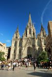 Barcelona Cathedral, Spain Stock Images