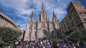 Barcelona Cathedral, Spain Royalty Free Stock Images