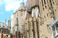 Barcelona Cathedral - Spain Stock Image