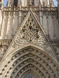 Barcelona Cathedral. View of the Barcelona Cathedral Stock Photography