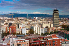Barcelona centre Stock Photos