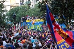 barcelona champions лига fc Стоковые Изображения RF