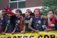barcelona champions лига fc Стоковая Фотография RF