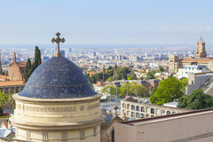 Barcelona church Royalty Free Stock Photography