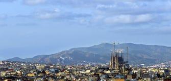 Barcelona city Stock Image