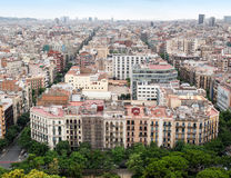 Barcelona city Royalty Free Stock Images