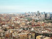 Barcelona city Royalty Free Stock Photos