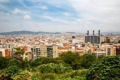 Barcelona city Stock Photography