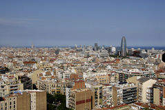Barcelona city Royalty Free Stock Image