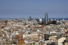 Barcelona city Royalty Free Stock Image