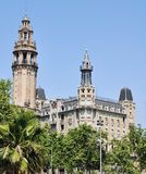 Barcelona city center, Spain Royalty Free Stock Photos