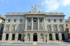Barcelona City Hall, Barcelona, Spain Stock Image