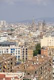 Barcelona, Spain - October 14, 2017. Overview of the city stock photos