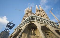 Barcelona, Catalonia / Spain - October 14, 2017. The Sagrada Familia is a Roman Catholic basilica designed by the architect Antoni stock photo