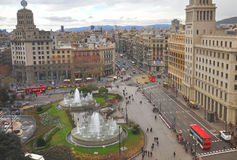 Barcelona city, Spain Stock Image