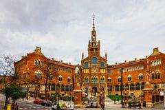 Barcelona city - Spain. Sant Pau Hospital, Catalonia. Royalty Free Stock Images