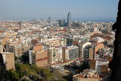 Barcelona city  Spain Royalty Free Stock Images