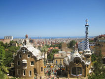 Barcelona City, Spain Royalty Free Stock Photos