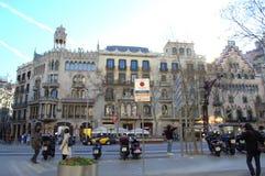 Barcelona city streets Royalty Free Stock Image