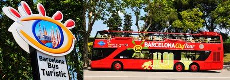 Barcelona City Tour Royalty Free Stock Image