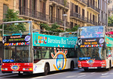 Barcelona City Tour Royalty Free Stock Images