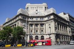 Barcelona City Tour Bus Stock Images