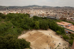 Barcelona city view Stock Image