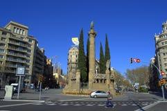 Barcelona city streets Stock Photo